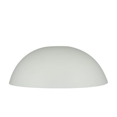 Plate cover in white