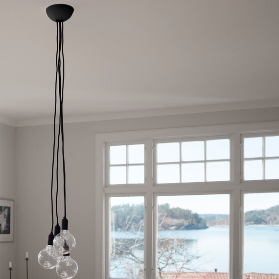 CableCup Quattro   Multiple outlet ceiling rose   4 outletsCableCup Quattro   Multiple outlet ceiling rose   4 outlets  . Quattro Lighting. Home Design Ideas