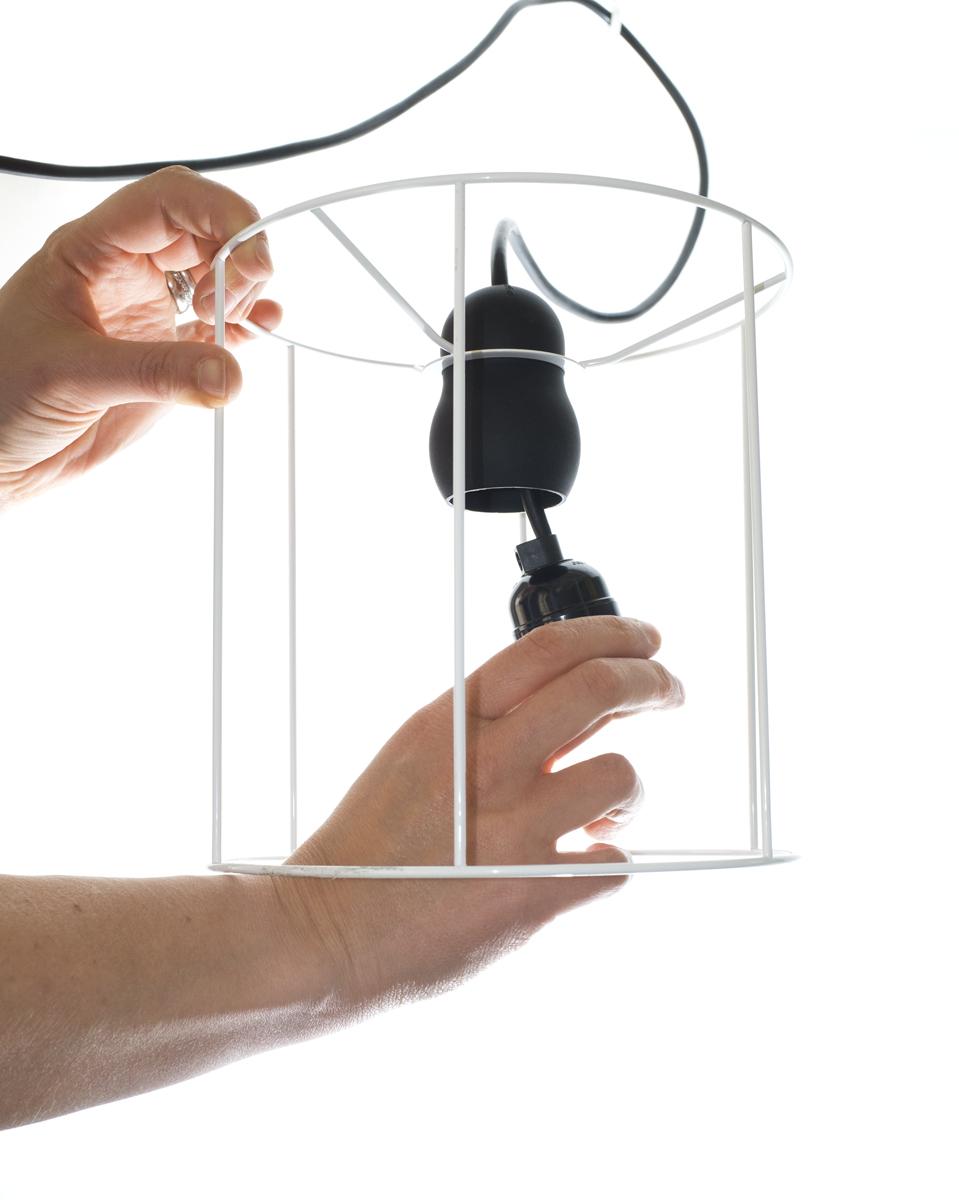 E27 lamp in silicone