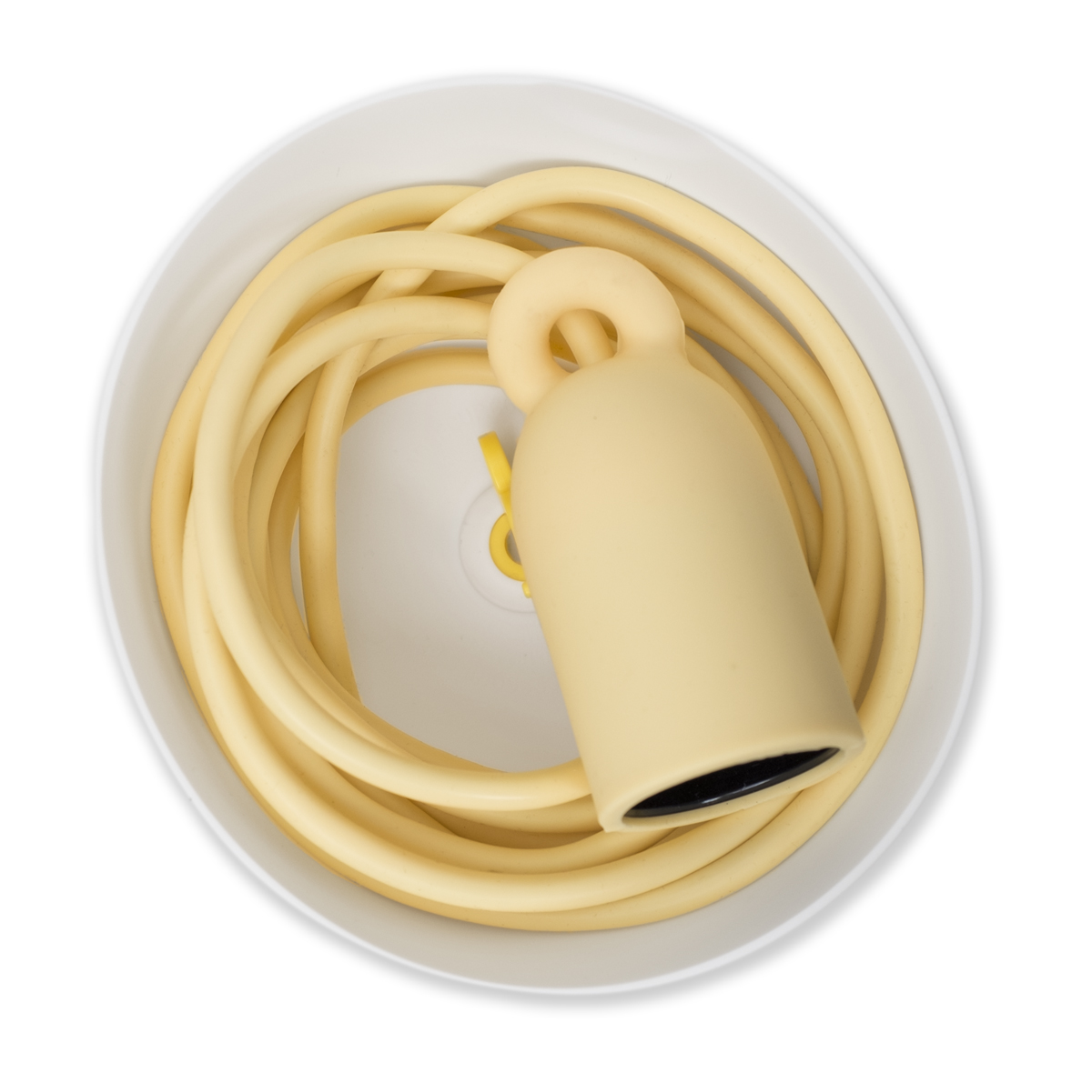 E27 lamp holder with ceiling rose and 3 m cord