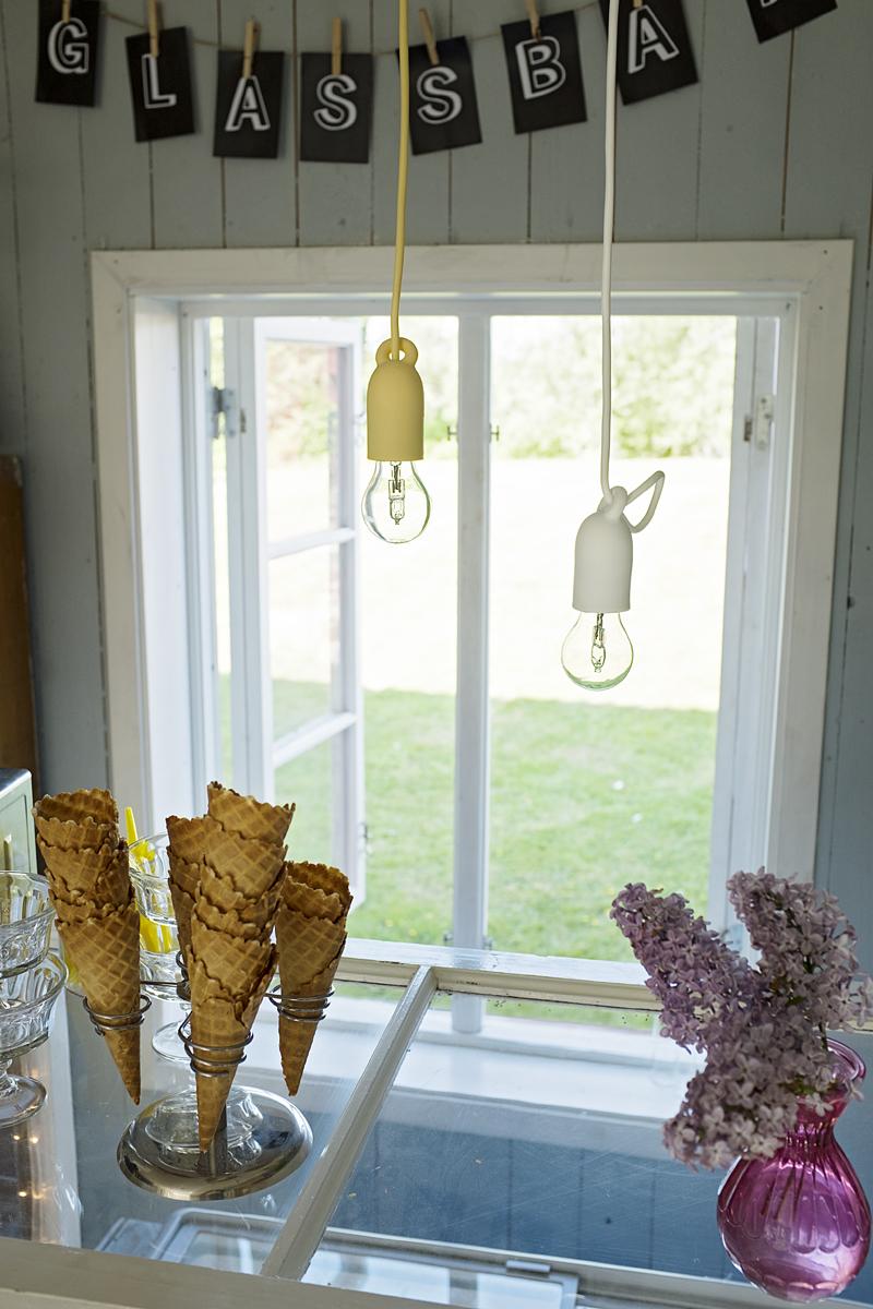 Snygga lampuppgäng för fönster